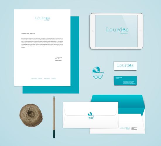 Lourdes Branding